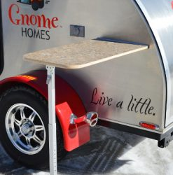 Gnome Home Teardrop Trailer (AB, Canada) Table-10