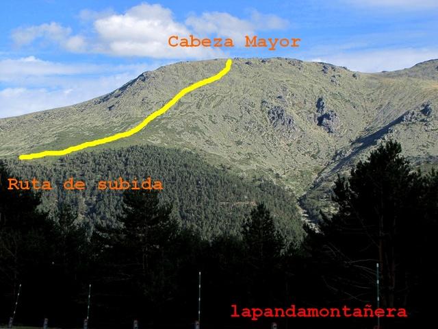 20170909 - CABEZA MAYOR - CARA NORESTE 09911