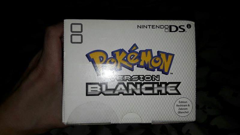 [EST] Nintendo DSI Edition Limitée Pokémon Blanche neuve scellée 20170955