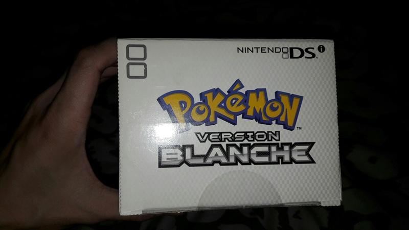 [EST] Nintendo DSI Edition Limitée Pokémon Blanche neuve scellée 20170956