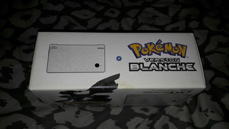 [EST] Nintendo DSI Edition Limitée Pokémon Blanche neuve scellée 20170957