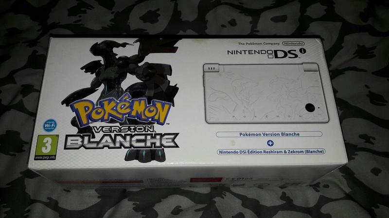[EST] Nintendo DSI Edition Limitée Pokémon Blanche neuve scellée 20170958