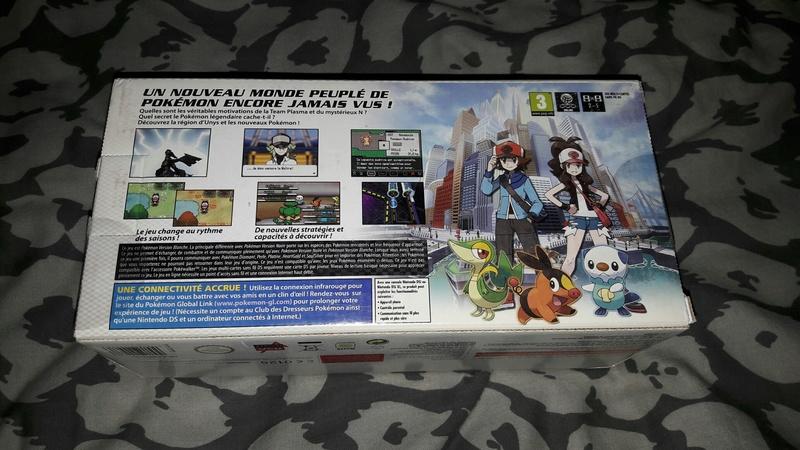 [EST] Nintendo DSI Edition Limitée Pokémon Blanche neuve scellée 20170959