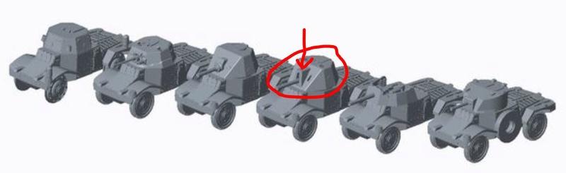 Les blindés et véhicules français en impression 3D Captur10