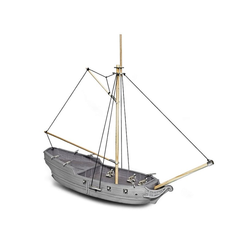 Ooooooh - resin pirate ship Sloop10