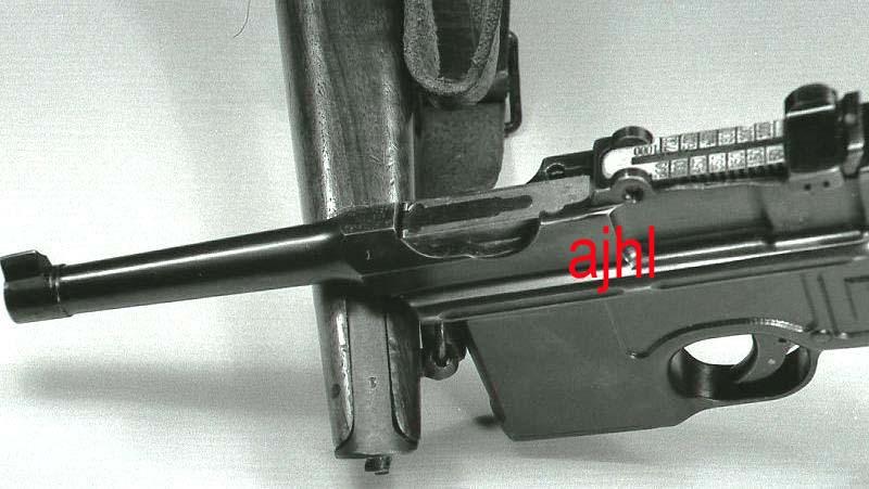 Mauser C96 schnellfeuer Numyro10
