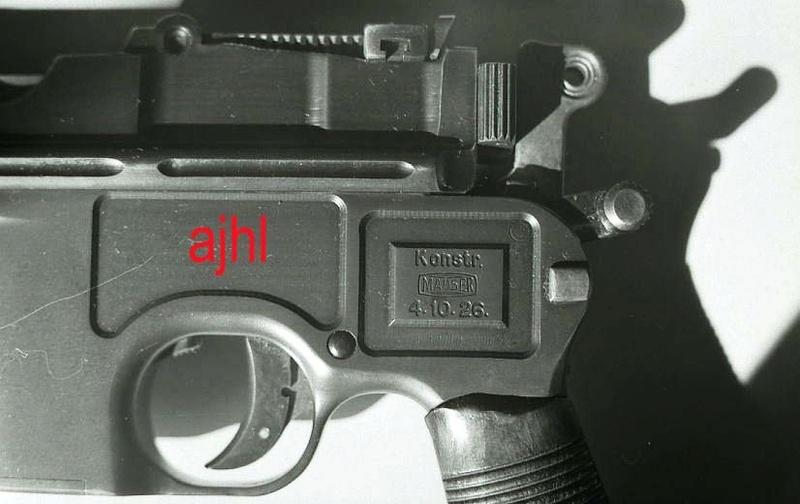 Mauser C96 schnellfeuer Vue310