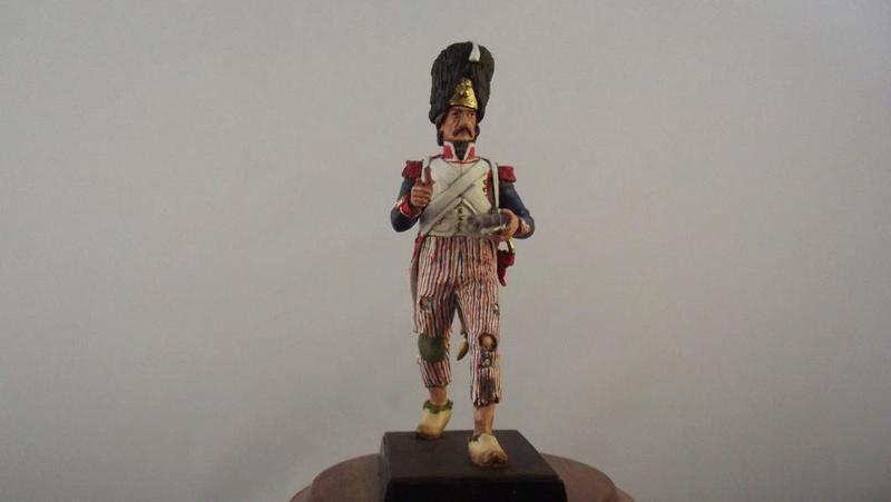Soldat während der Französischen Revolution K800_d59