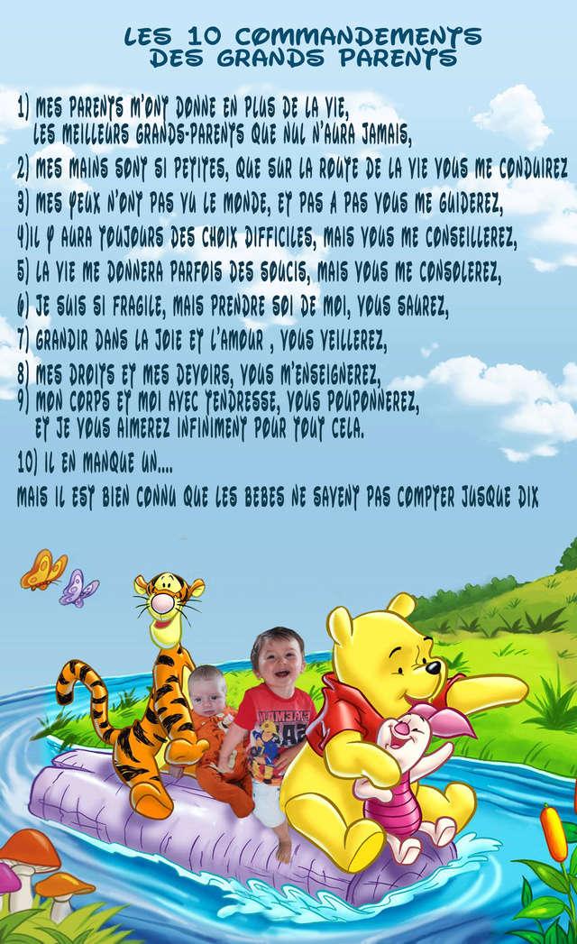 commandements à modifier 11x1811
