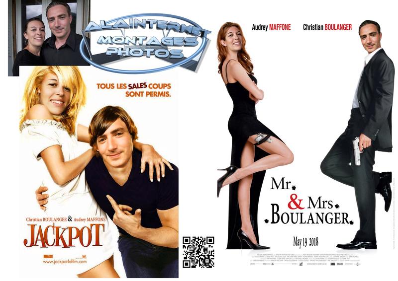 affiche de film personnalisée  sur theme mariage Sans_t18