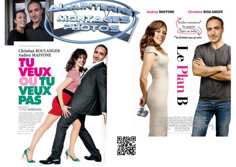 affiche de film personnalisée  sur theme mariage Sans_t19