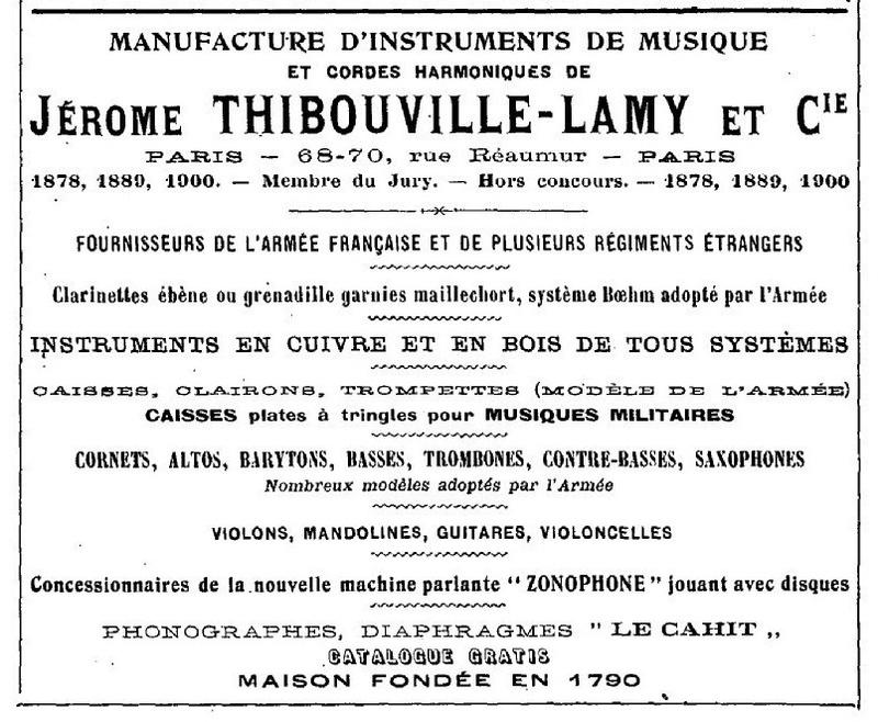 Les instruments de musique : caisses - tambours - clairons - trompettes  - Page 3 1905_c10