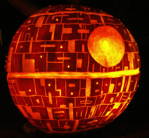 THE SECOND ANNUAL TXI STAR WARS PUMPKIN CARVING CONTEST Image53