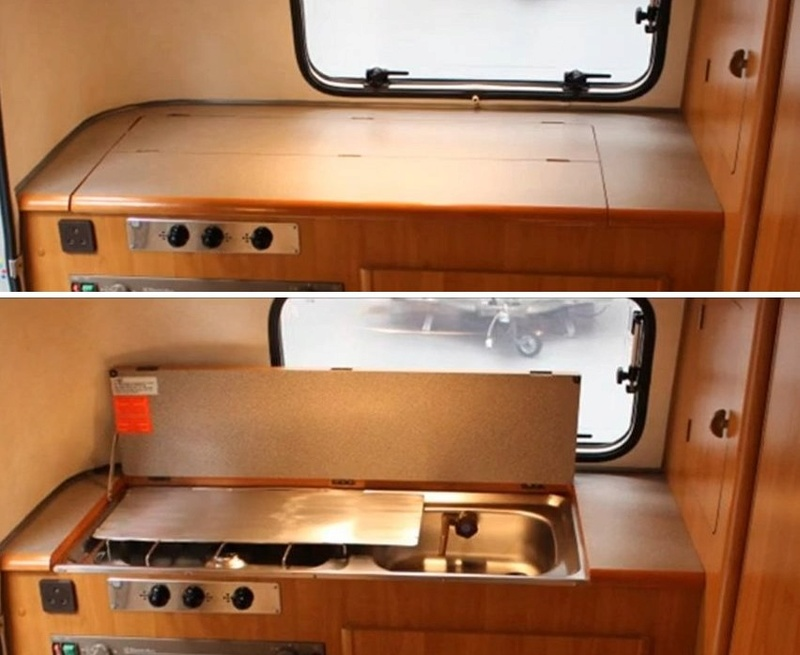 Dessus kitchenette plus fonctionnel Initia10