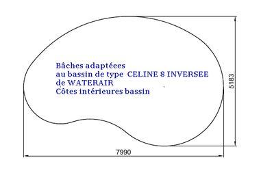 position de l'enrouleur bâche à bulle Celine11