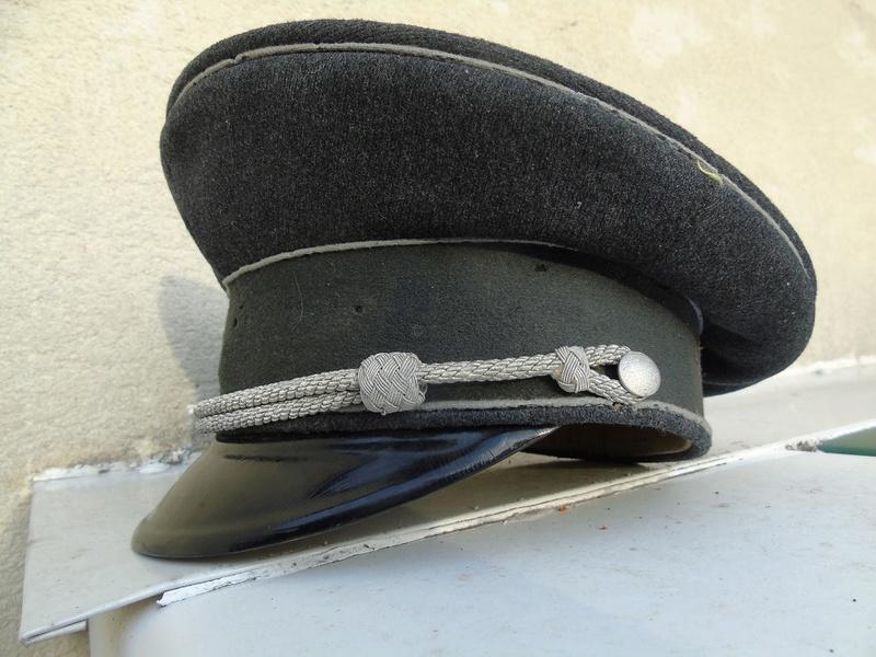 Schimmütze allemand  à identifier ? seconde guerre rotes Kreuz? Dsc04561
