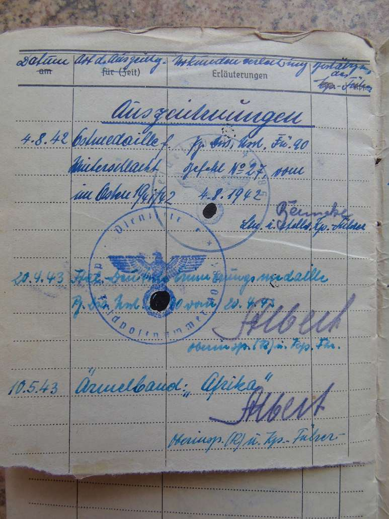 Un sodlbuch panzer ? afrika Korps   à traduire svp Dsc04649