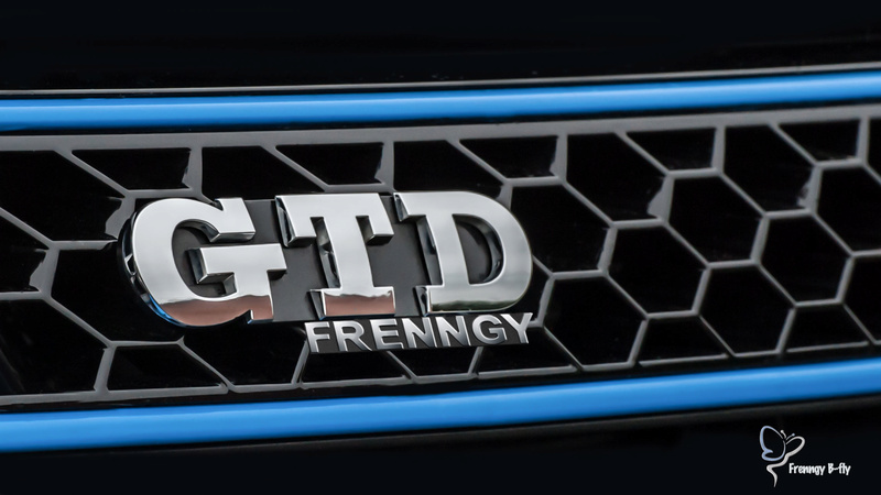 GTD Gris carbone et bleu brossé Frenng13
