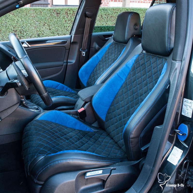 GTD Gris carbone et bleu brossé Frenng88