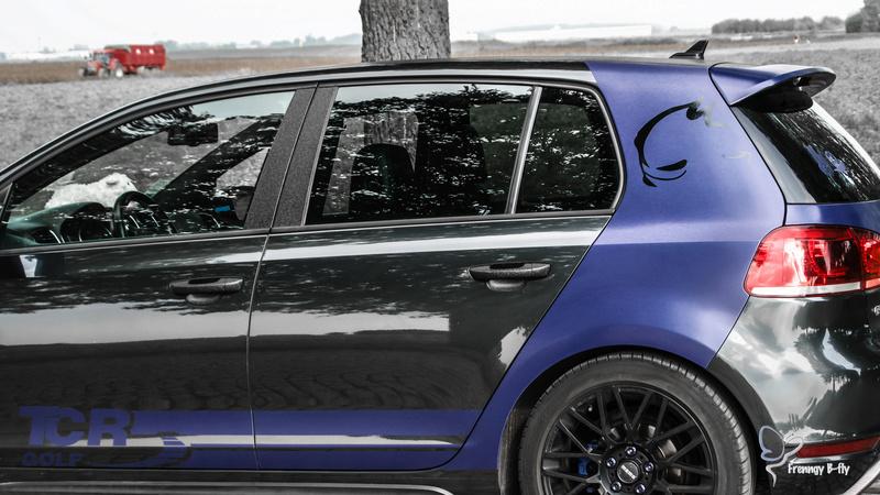 GTD Gris carbone et bleu brossé Frenng91