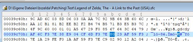 Editing Zelda 3 Blade Beam Image219