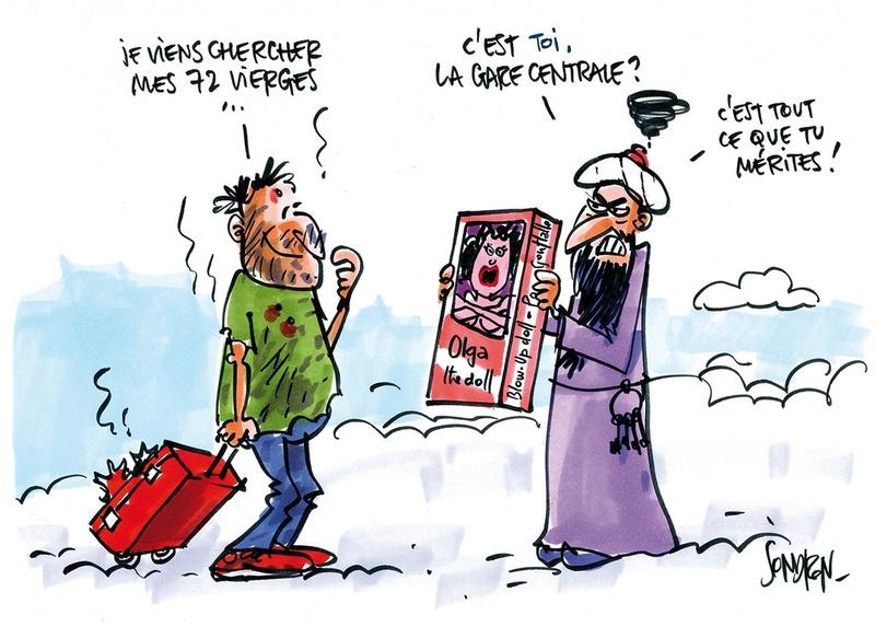 Dessin remarquable de la Revue de Presque qui Cartoone - Page 19 Dc4nbb10