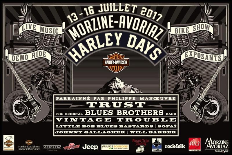 Harley day 2017 Morzine Frise210