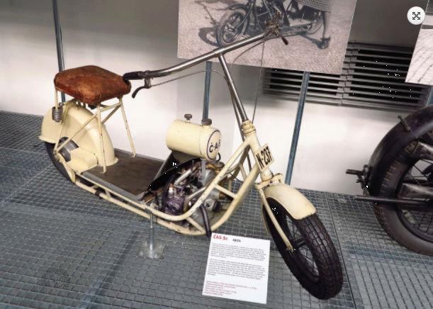 Čas: Le premier flat twin à transmission par arbre fut un scooter ! Snip_216