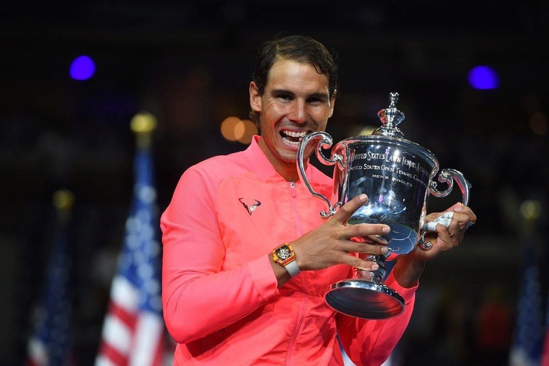 NADAL WINS SLAM NUMBER 16, MOVES 2 CLEAR OF THIRD PLACED SAMPRAS 21585810
