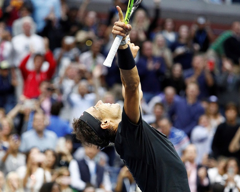 NADAL WINS SLAM NUMBER 16, MOVES 2 CLEAR OF THIRD PLACED SAMPRAS Djzkua10