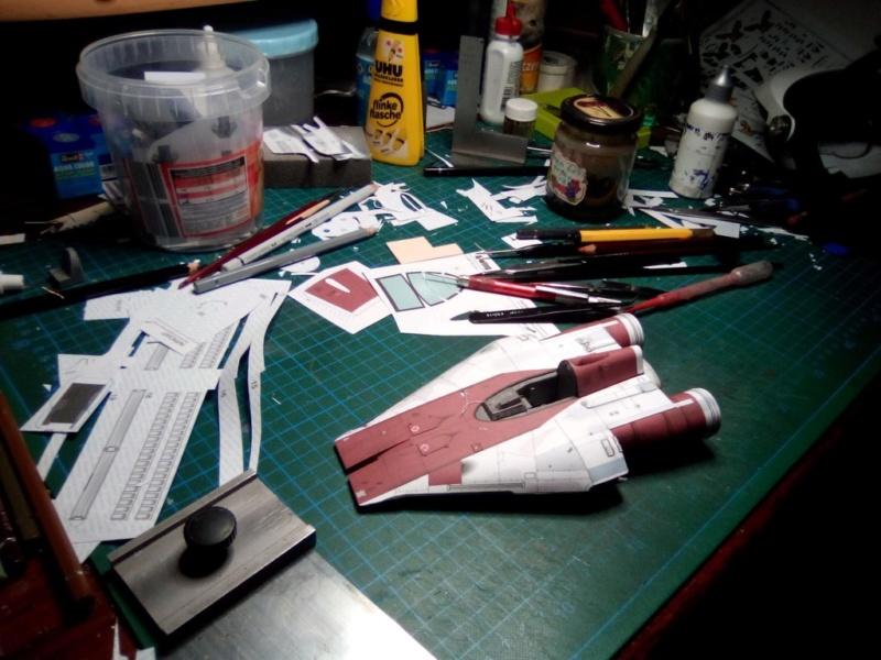 StarWars A-Wing Fighter, freier Download von Shunichi Makino A_wing11