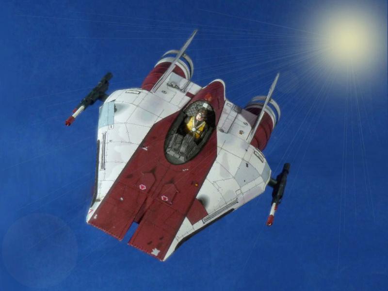 StarWars A-Wing Fighter, freier Download von Shunichi Makino A_wing12