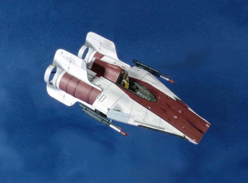 StarWars A-Wing Fighter, freier Download von Shunichi Makino A_wing13