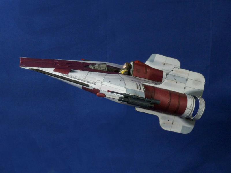StarWars A-Wing Fighter, freier Download von Shunichi Makino A_wing18