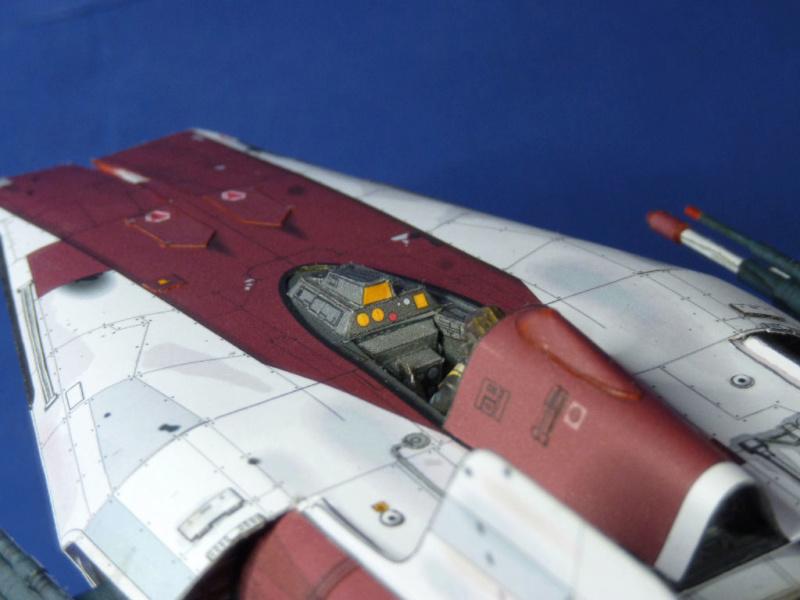 StarWars A-Wing Fighter, freier Download von Shunichi Makino A_wing20