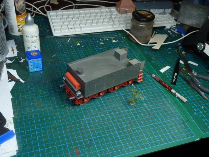 Mein erstes Kartonmodell Tender Pirling S3 P1050713