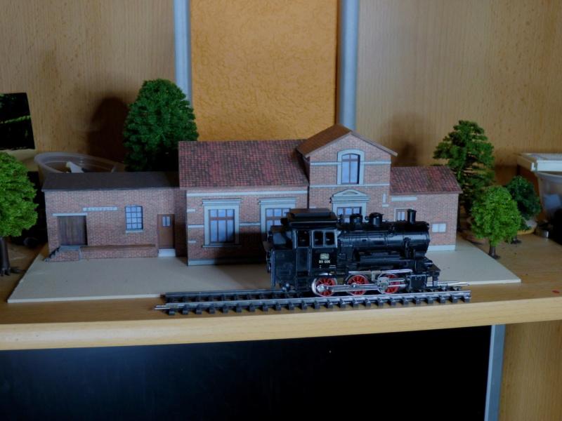 Diorama Bahnhof Asendorf mit T41 in H0e / 1/87 Schmalspur - Seite 7 P1060231