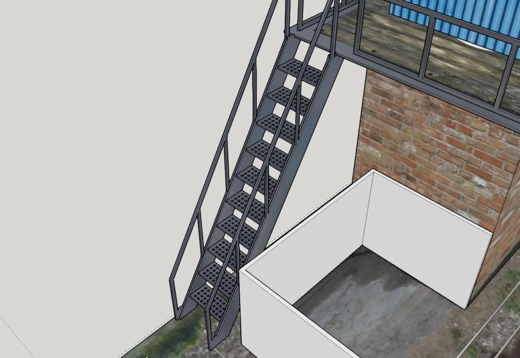 Helmut_Z Kartonbauwerke Spur N Sammelthread - Seite 3 Treppe10