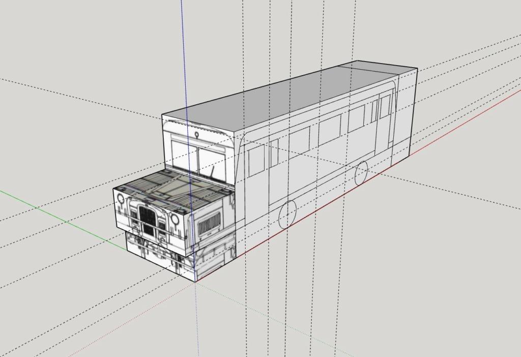 """Projekt """"Schweineschnäuzchen"""" , ein Wismarer Schienenbus in N Wissma10"""