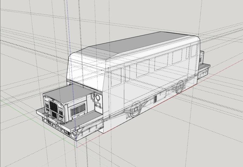 """Projekt """"Schweineschnäuzchen"""" , ein Wismarer Schienenbus in N Wissma11"""