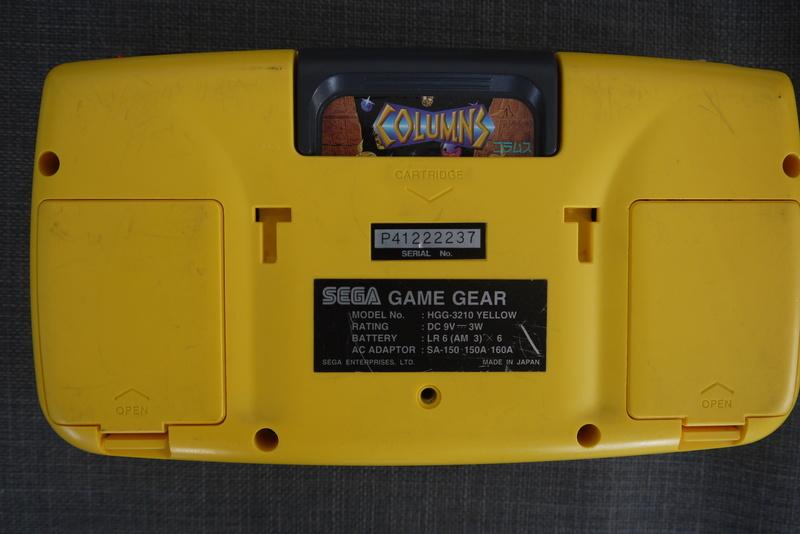 [ESTIM] Game Gear jaune P1060911