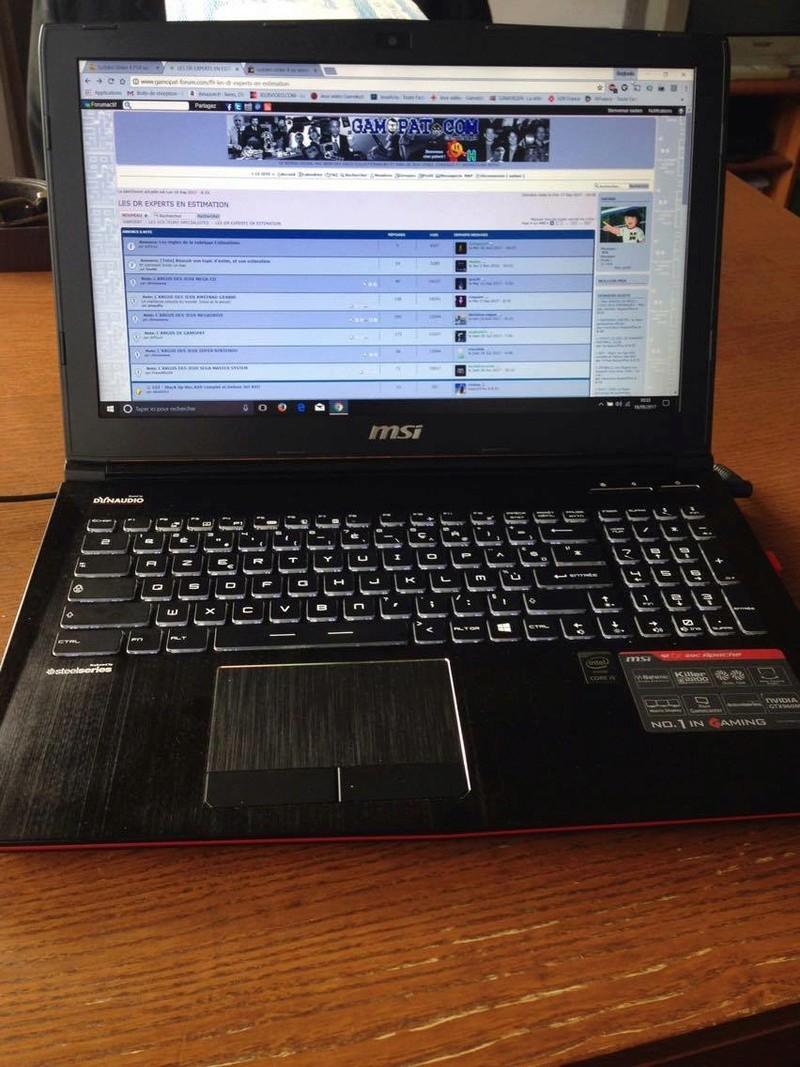 Estimation PC Portable Gamer 21844110