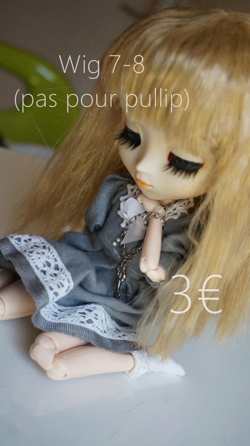 [Vends] Wig blonde 7-8 et yeux BJD Dsc00311