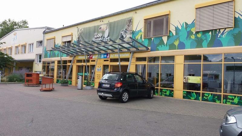 Visite de l'animalerie Zoo Burkart à Fribourg en Allemagne 110