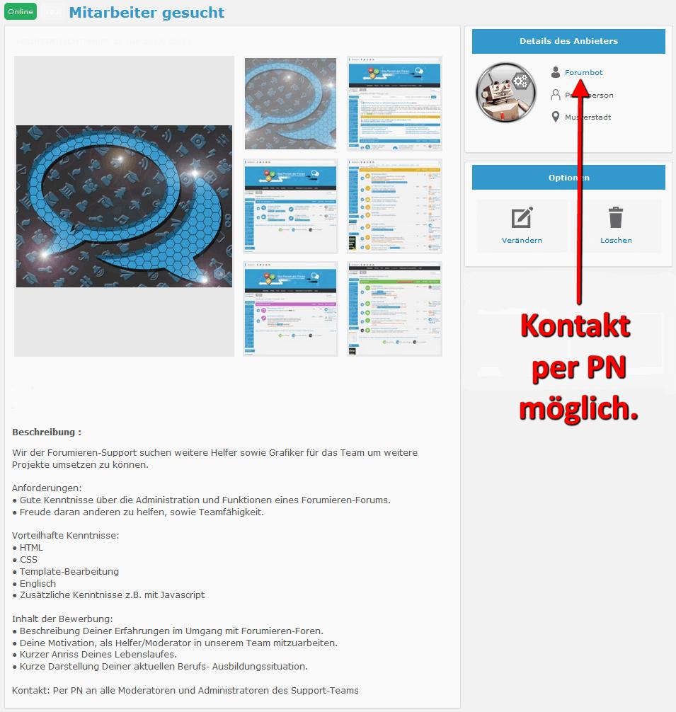 [Information] Forenaustausch der Forumieren-Foren Anzeig12