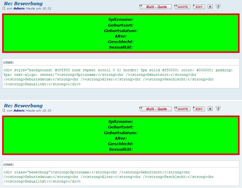 HTML in Beiträgen wird nicht richtig angezeigt Html-c10