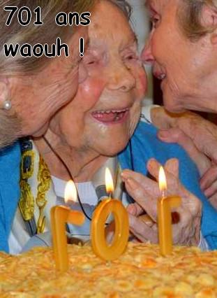 Preuves de vie récentes sur les personnes de 107 ans - Page 13 Bougie10