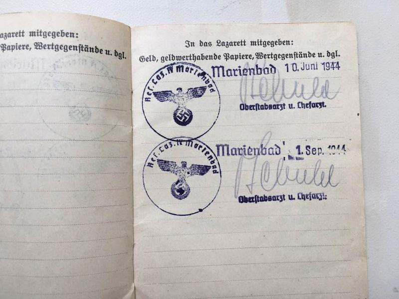 Soldbuch Luftwaffe 1944-1945 à déchiffrer svp 910