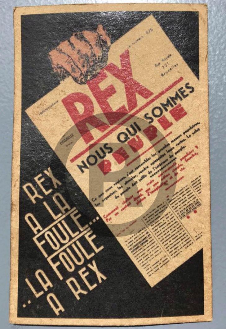 Calendrier Rexiste avant guerre Screen28