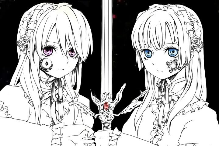 Does anyone know which manga these two girls are from? 91f1dd10